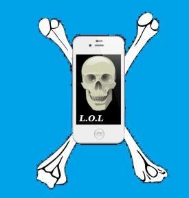 Laugh out Dead blue