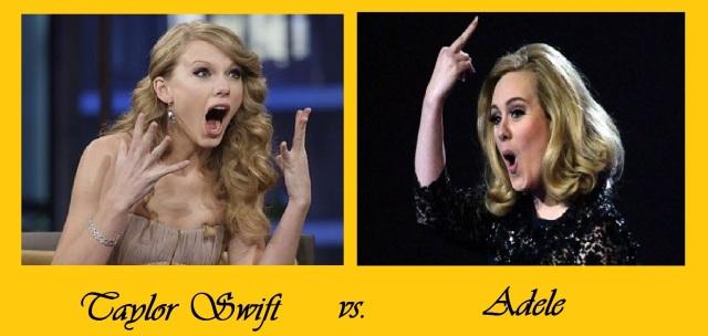 Adele vs Taylor