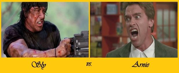 Sly vs Arnie